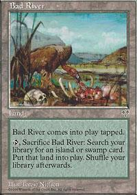 Bad River Magic Card