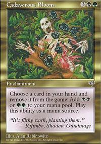Cadaverous Bloom Magic Card