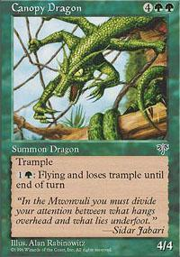 Canopy Dragon Magic Card