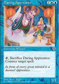 Daring Apprentice Magic Card