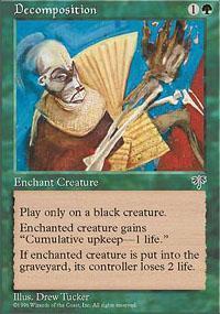Decomposition Magic Card