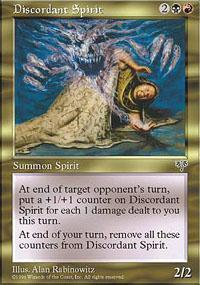 Discordant Spirit Magic Card