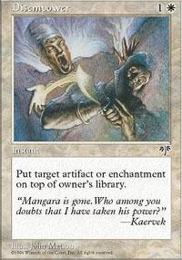 Disempower Magic Card