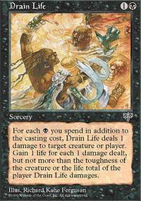 Drain Life Magic Card