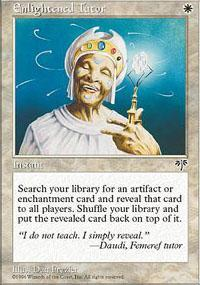 Enlightened Tutor Magic Card