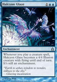 Halcyon Glaze Magic Card