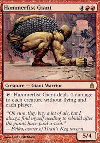 Hammerfist Giant Magic Card