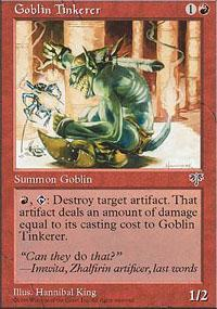 Goblin Tinkerer Magic Card