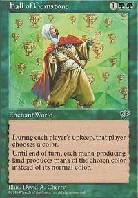 Hall of Gemstone Magic Card