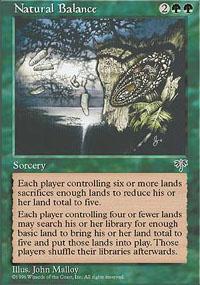 Natural Balance Magic Card