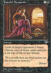 Painful Memories Magic Card