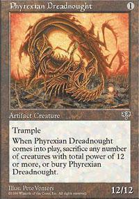 Phyrexian Dreadnought Magic Card
