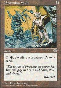 Phyrexian Vault Magic Card