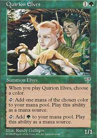 Quirion Elves Magic Card
