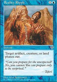 Reality Ripple Magic Card