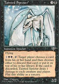Tainted Specter Magic Card