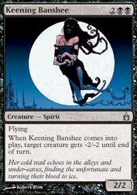 Keening Banshee Magic Card