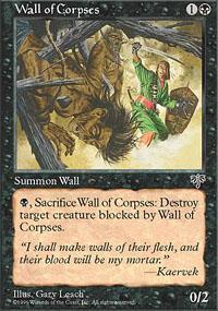 Wall of Corpses Magic Card