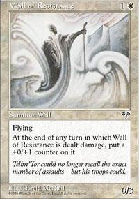 Wall of Resistance Magic Card