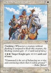 Zhalfirin Commander Magic Card