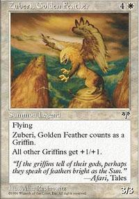 Zuberi, Golden Feather Magic Card