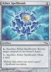 AEther Spellbomb Magic Card