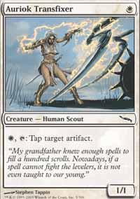 Auriok Transfixer Magic Card