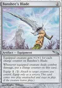 Banshee's Blade Magic Card