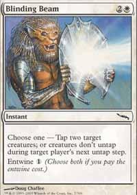 Blinding Beam Magic Card