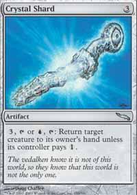 Crystal Shard Magic Card