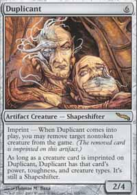 Duplicant Magic Card