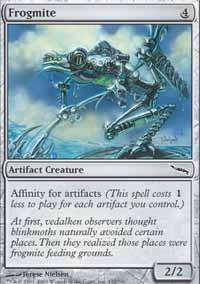 Frogmite Magic Card