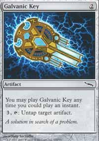 Galvanic Key Magic Card