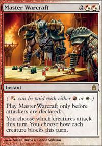 Master Warcraft Magic Card
