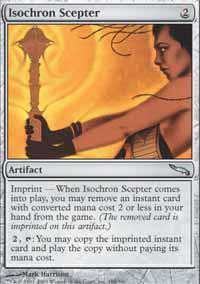 Isochron Scepter Magic Card