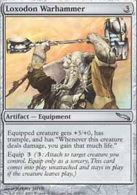 Loxodon Warhammer Magic Card