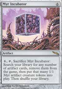 Myr Incubator Magic Card