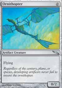 Ornithopter Magic Card