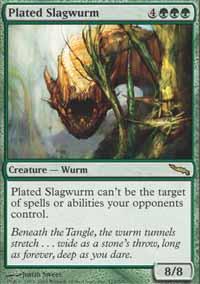 Plated Slagwurm Magic Card