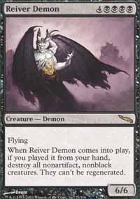 Reiver Demon Magic Card