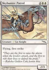 Skyhunter Patrol Magic Card
