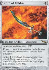 Sword of Kaldra Magic Card