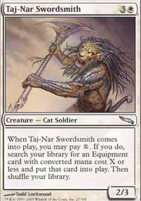Taj-Nar Swordsmith Magic Card