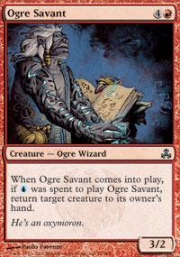 Ogre Savant Magic Card