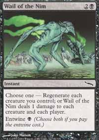 Wail of the Nim Magic Card
