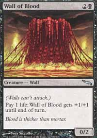 Wall of Blood Magic Card