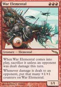 War Elemental Magic Card