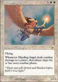 Blinding Angel Magic Card
