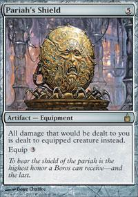 Pariah's Shield Magic Card