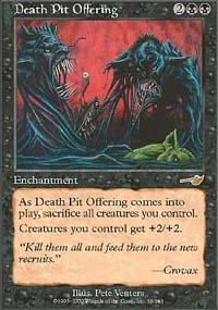 Death Pit Offering Magic Card